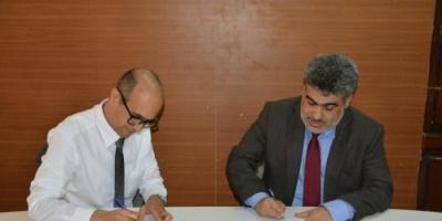 باصهيب يلتقي ممثلي عدداً من المنظمات الدولية ويوقع اتفاقية مع منظمة بريطانية