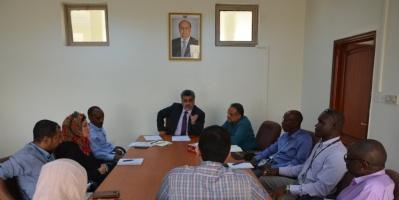 باصهيب يؤكد على إعداد خطة الاستجابة الإنسانية 2019 بالتنسيق مع الوزارات المعنية