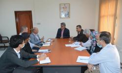نائب وزير التخطيط يبحث مع الأمم المتحدة دعمها لمينائي عدن والمكلا الإستراتيجيين