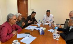 اجتماع في وزارة التخطيط يناقش مشروع تعزيز مرونة المؤسسات الاقتصادية في المحافظات