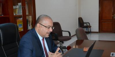 وزير التخطيط يبحث مع نائب السفير البريطاني تعزيز أوجه التعاون المشترك بين البلدين