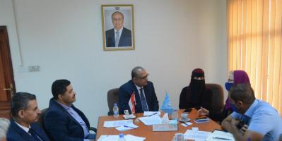 وزير التخطيط يبحث مع رئيسة الهجرة الدولية دعم جهود مواجهة ملف اللاجئين