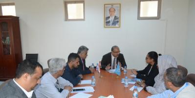 وزير التخطيط يبحث مع نائب ممثل البرنامج الإنمائي التعاون المشترك لتطوير برامج التنمية