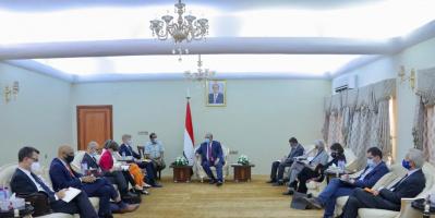 وزير التخطيط يلتقي بعثة الاتحاد الأوروبي لدى اليمن