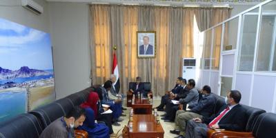 باصهيب يناقش مع أمين عام المجلس النرويجي إمكانية التدخل في مأرب ومشاريعهم في اليمن