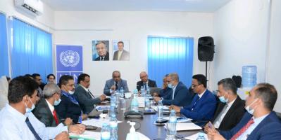 الحكومة والبرنامج الإنمائي يبحثان جهود تحقيق السلام والتعافي الاقتصادي وبناء مؤسسات الدولة