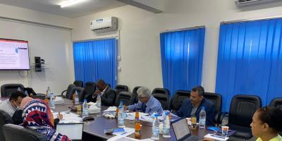 الوكيل المساعد لوزارة التخطيط والتعاون الدولي يشارك  في اجتماع مجلس ادارة مشروع الحماية الاجتماعية الممول من الاتحاد الاوربي