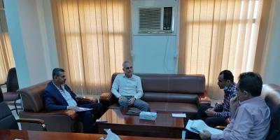 وكيل مساعد وزارة التخطيط والتعاون الدولي يلتقي رئيس بعثة أطباء بلا حدود الهولندية
