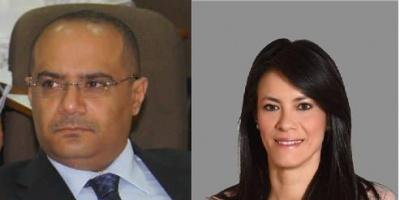 وزير التخطيط والتعاون الدولي يقدم التعازي لنظيرته في جمهورية مصر العربية