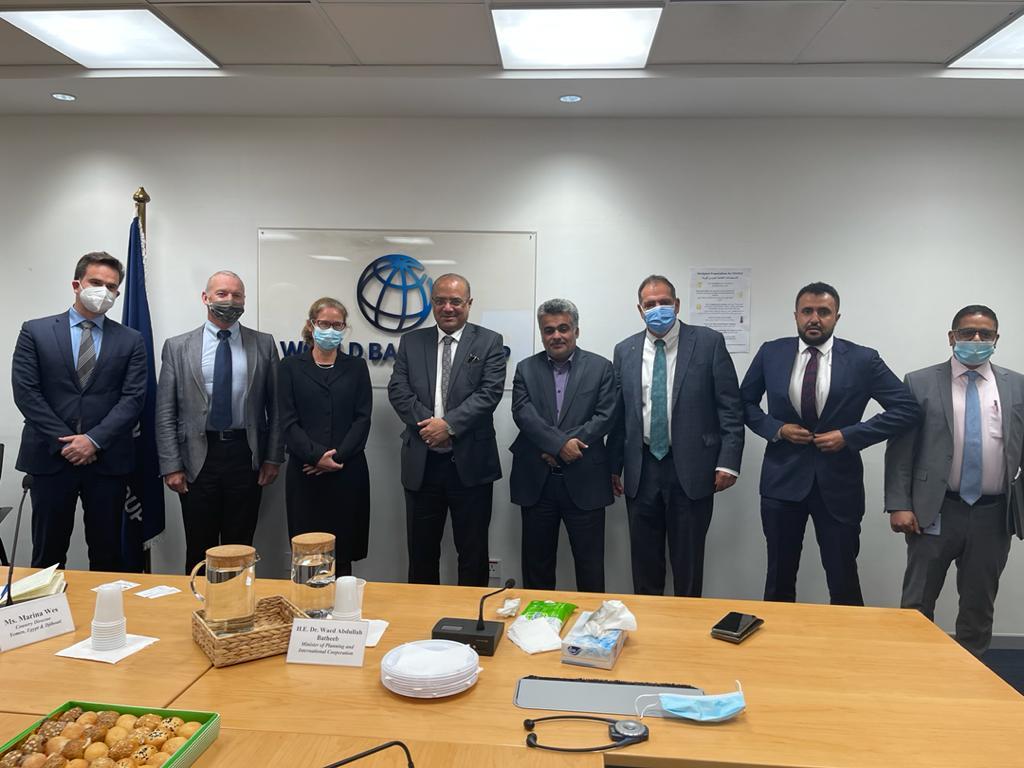 وزير التخطيط يبحث مع البنك الدولي إنشاء صندوق داعم للموانئ والطرقات ولقاحات كورونا