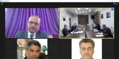 وزير التخطيط يبحث اليات التنسيق والرقابة على المشاريع مع المدير الإقليمي لليونيسف للشرق الأوسط وشمال أفريقيا