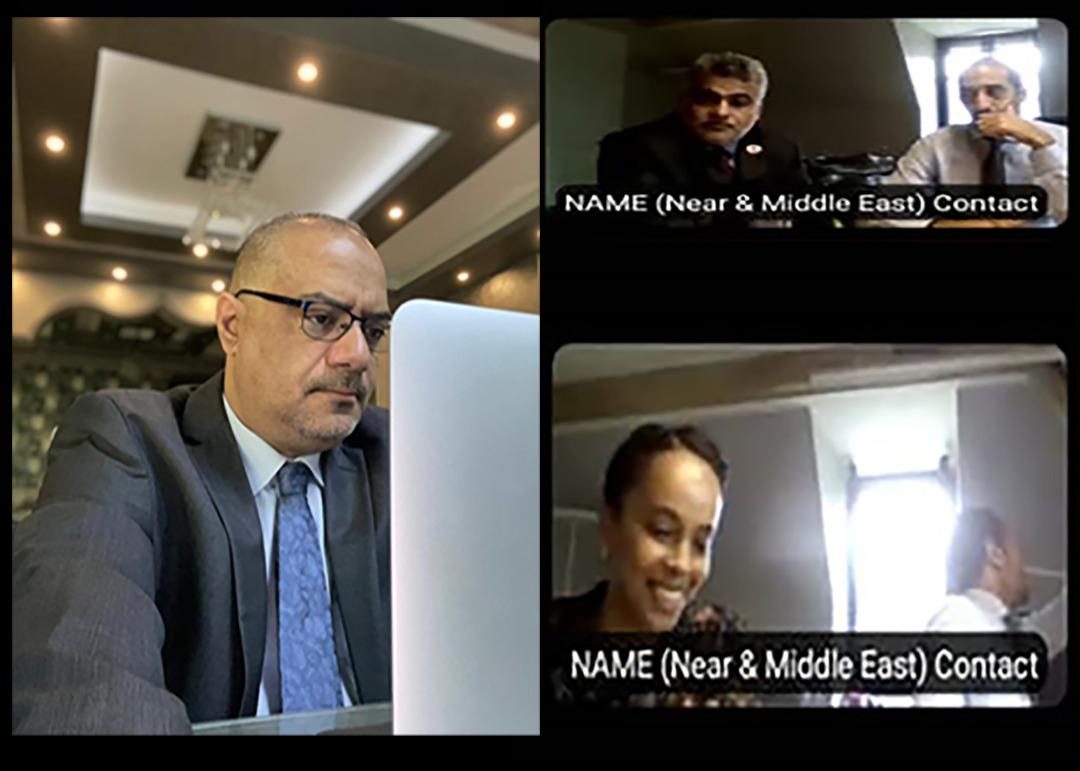 وزير التخطيط يناقش مع منظمة نداء جنيف أنشطتها في مجال بناء السلام